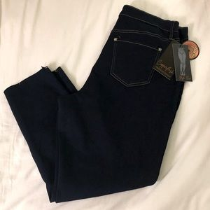Copperflash Curvy High Rise Ankle Jeans Sz 18W NWT